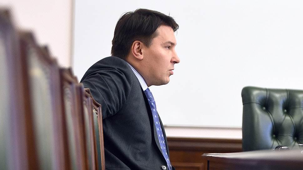 Заместитель Министра финансов России Илья Трунин