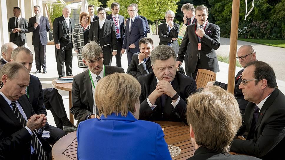 Чем в октябре завершились переговоры в «нормандском формате» по ситуации на востоке Украины