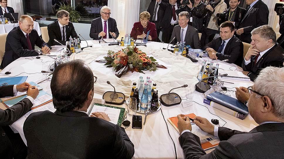 """Чем завершились переговоры """"нормандской четверки"""" в Берлине"""