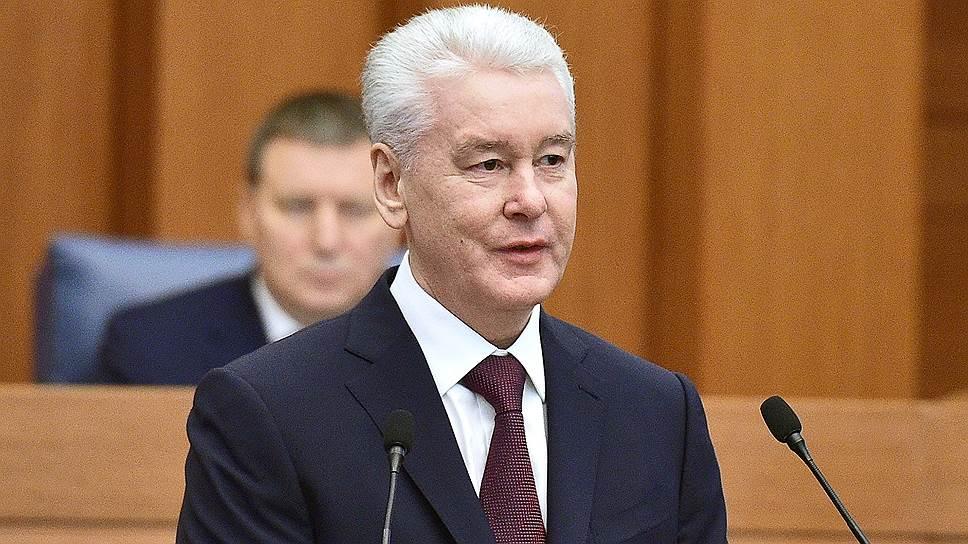 Как Сергей Собянин отчитался о проделанной работе в Мосгордуме