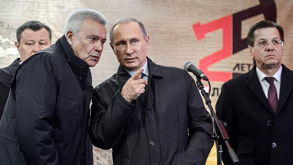 Как Владимир Путин запустил в Астрахани буровую платформу