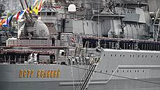 Флагман Северного флота чинили без лицензии