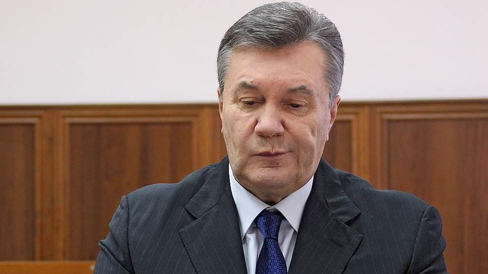 Как экс-президент Украины наконец-то выступил перед своим народом в суде