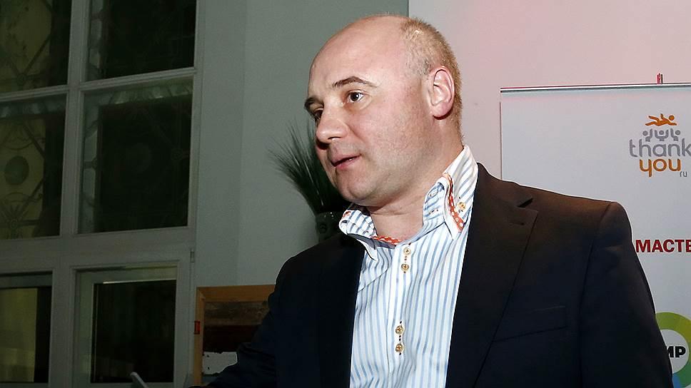 Бывший президент Маст-банка Юрий Пирогов