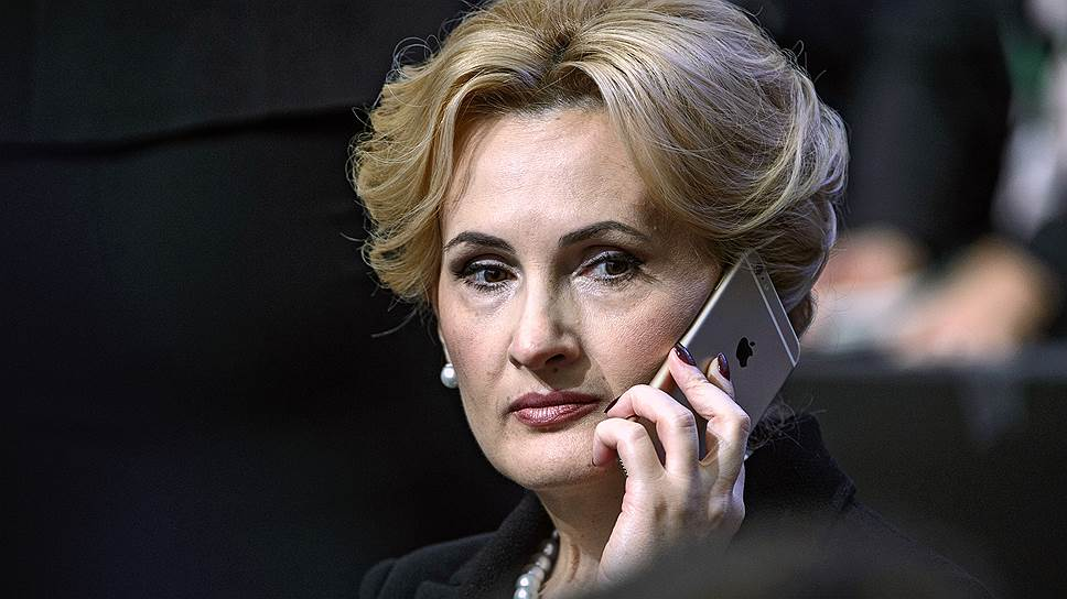 Заместитель председателя Государственной думы России Ирина Яровая