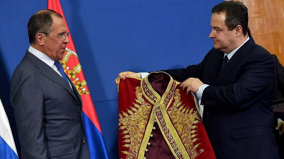 Каковы итоги декабрьского визита Сергея Лаврова в Сербию