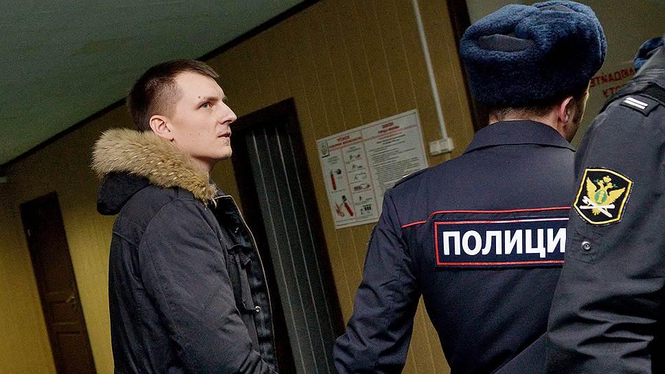 Подозреваемый Сергей Абрамов