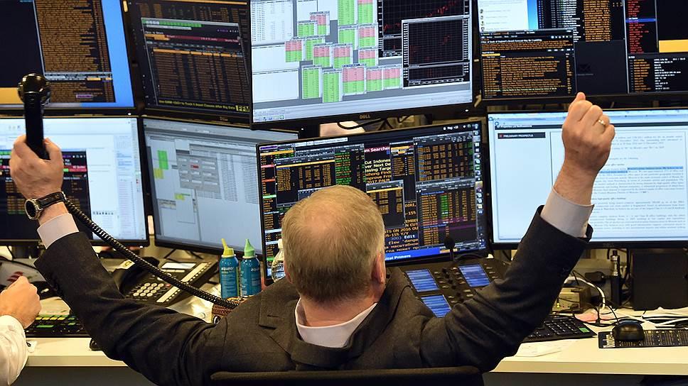 Московская биржа побила восьмилетний рекорд