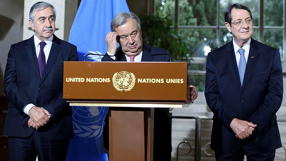 Как идут переговоры по объединению Северного и Южного Кипра