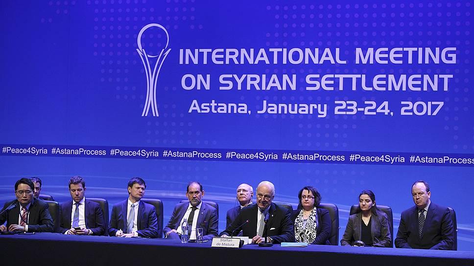 Какие неожиданные проблемы возникли на январских переговорах по Сирии в Астане