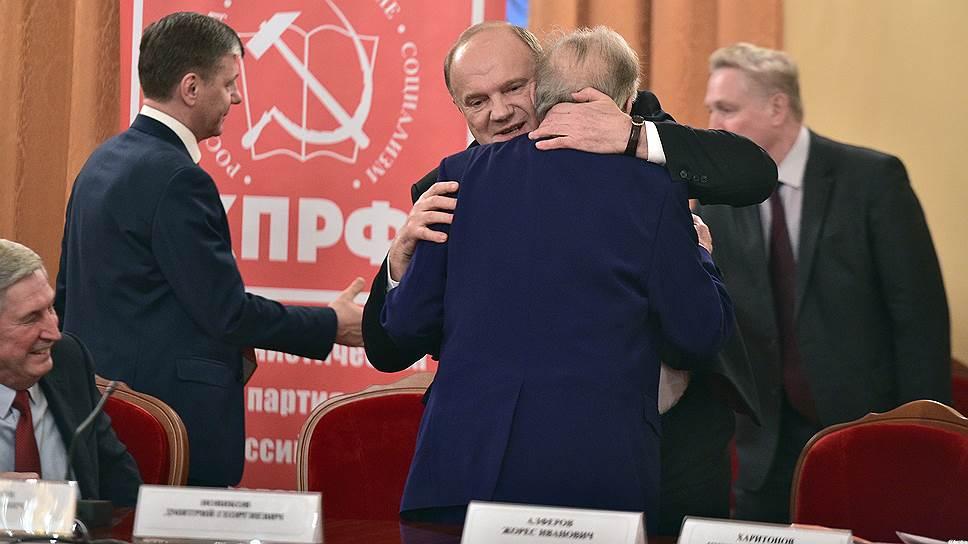 Геннадий Зюганов ищет, кто пойдет с ним на выборы