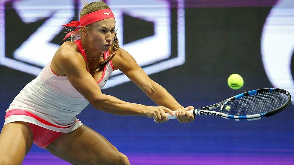 Как Наталья Вихлянцева вышла в полуфинал турнира в Санкт-Петербурге