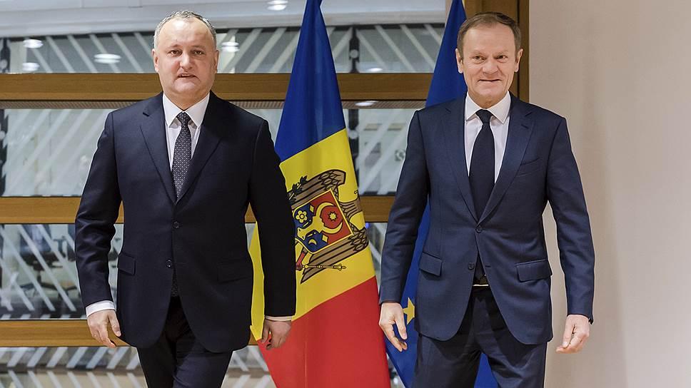 Что Игорь Додон говорил об открытии офиса связи НАТО в Кишиневе