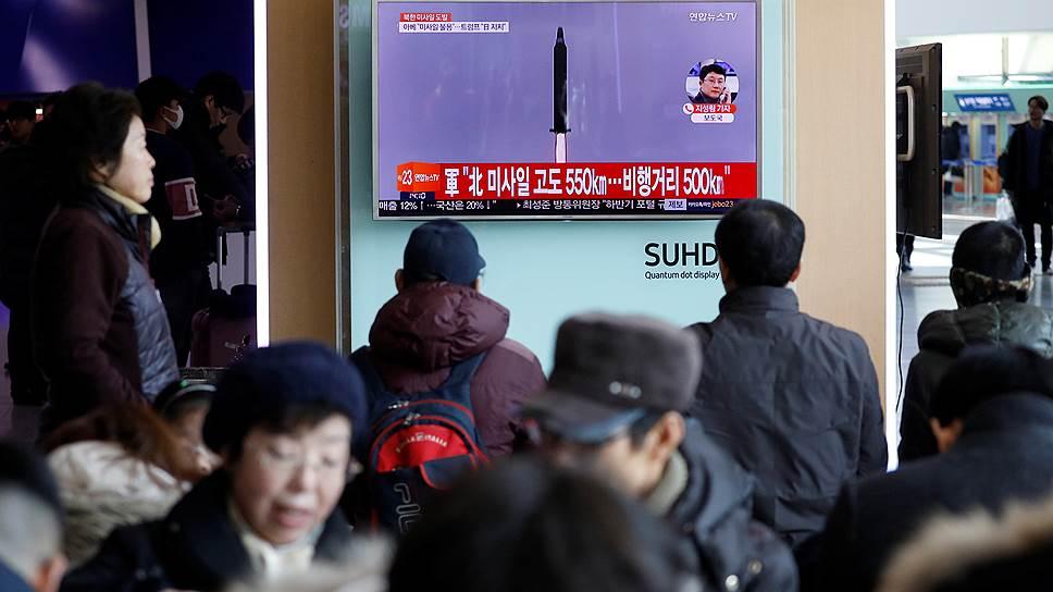 Как встреча лидеров США и Японии была прервана ракетным испытанием КНДР