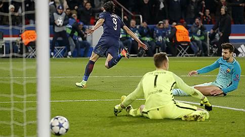 Барселона произвела незабивающее впечатление // Главный фаворит турнира проиграл ПСЖ с катастрофическим счетом
