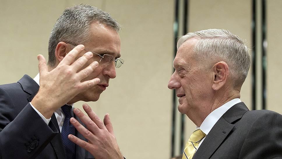 Чем завершилось заседание министров обороны стран—членов НАТО
