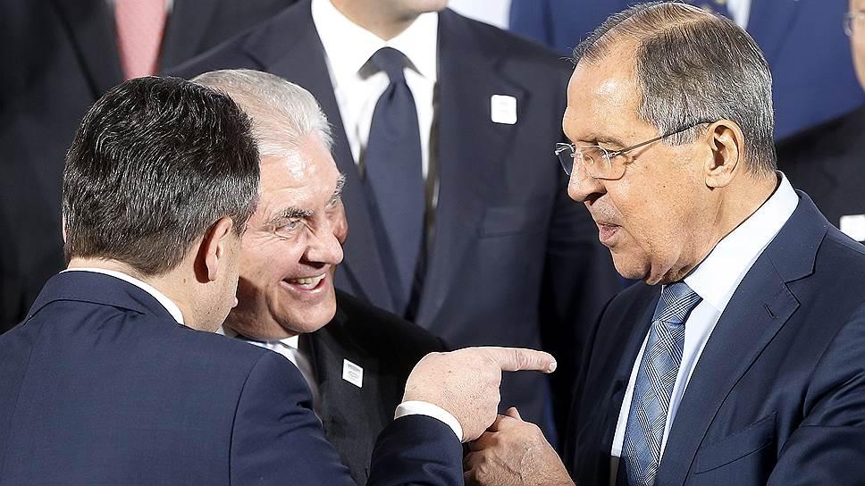 Бонн вояж / Сергей Лавров и Рекс Тиллерсон обсудили все, кроме санкций