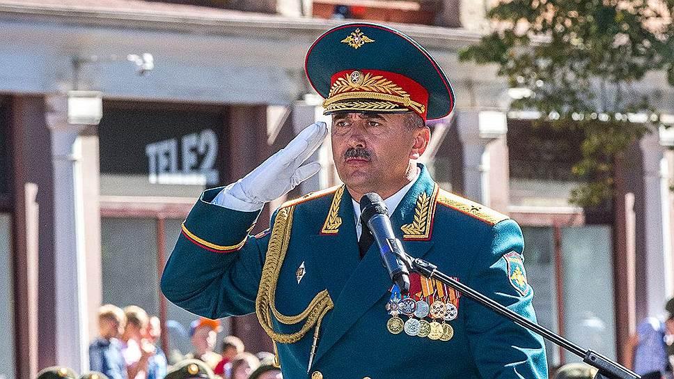 Генерал-майор Петр Милюхин стал жертвой фугаса в Сирии
