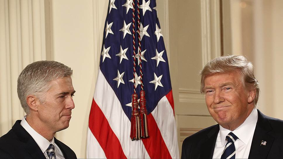 Как демократы пытались не допустить избрание Нила Горсача в качестве нового члена Верховного суда США