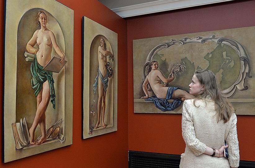С оглядкой то на старых мастеров, то на Алексея Венецианова Зинаида Серебрякова искала идеальную красоту мира в женской натуре