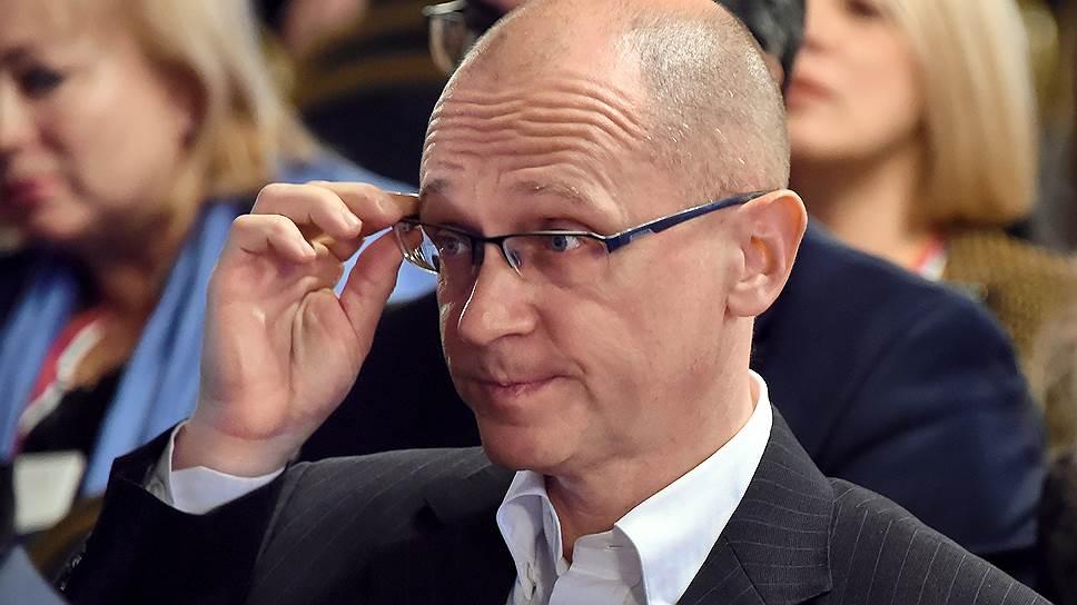 Первый заместитель главы администрации президента Сергей Кириенко решил внимательнее присмотреться к непрофильным рискам политического процесса