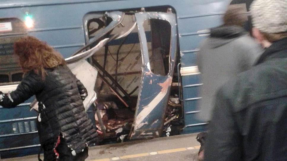 Как задержали предполагаемых сообщников взорвавшегося в метро террориста