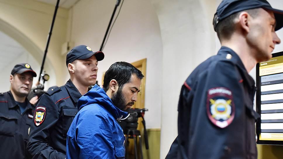 Как был арестован брат предполагаемого организатора теракта в Санкт-Петербурге