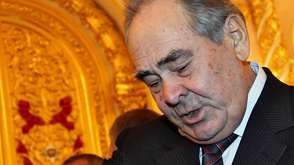 Минтимер Шаймиев считает необходимым сохранить особый статус Татарстана