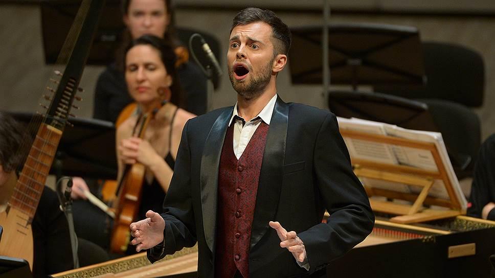 Концерт открыл московской публике не только «Тезея», но и ряд хороших певцов — в том числе контратенора Константина Дерри (на фото)