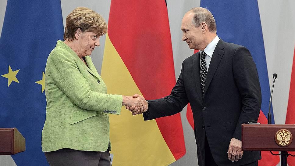 Чем закончились переговоры с немецким канцлером в сочинской резиденции Владимира Путина