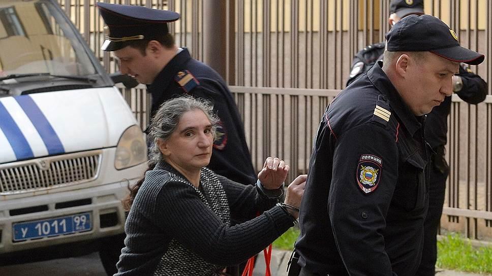 Для Ларисы Маркус, находящейся под стражей с декабря 2015 года, запросили десятилетний срок