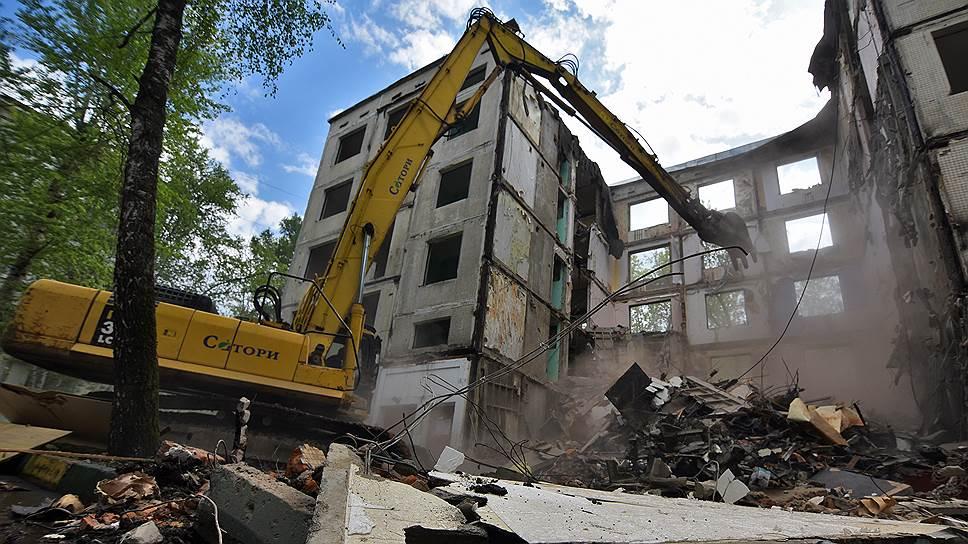 В Госдуме обещают убрать все спорное из закона о сносе пятиэтажек