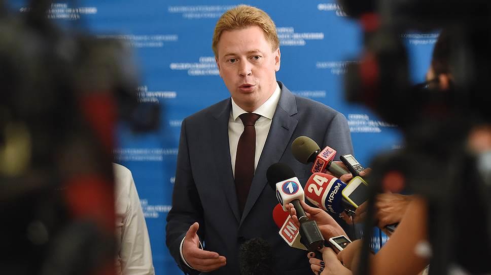 Как Дмитрию Овсянникову готовят единого конкурента за пост губернатора Севастополя