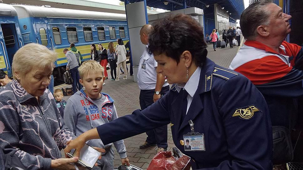 По железной дороге с Украины в Россию и обратно ездят до 2 млн пассажиров в год
