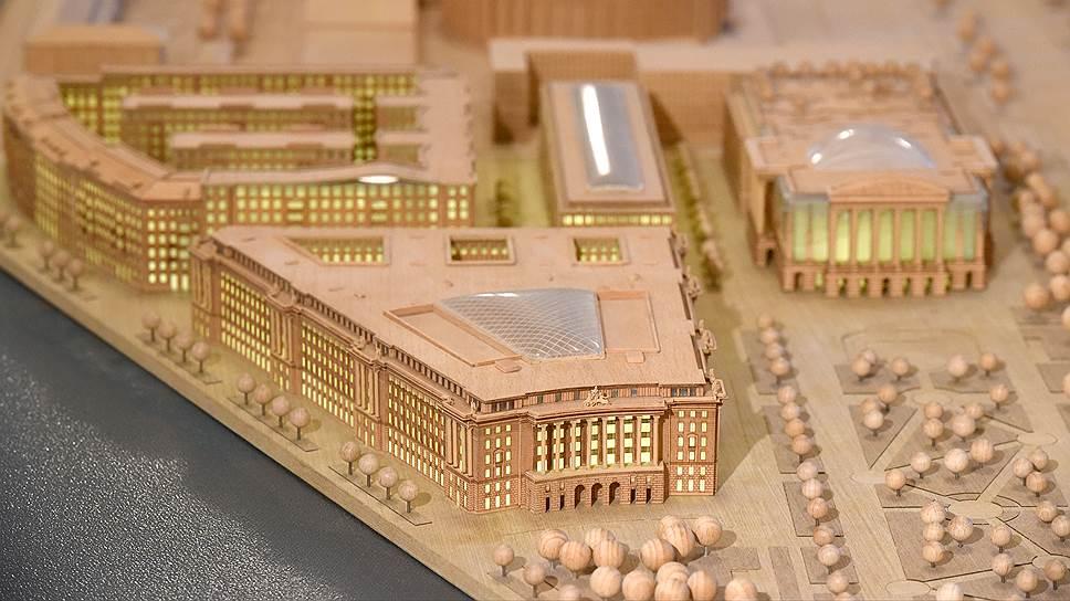 Как строительство судебного квартала становилось тайным