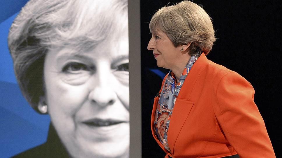 Премьер Великобритании Тереза Мэй (на фото) и лидер лейбористов Джереми Корбин продемонстрировали на дебатах разные подходы к борьбе с терроризмом