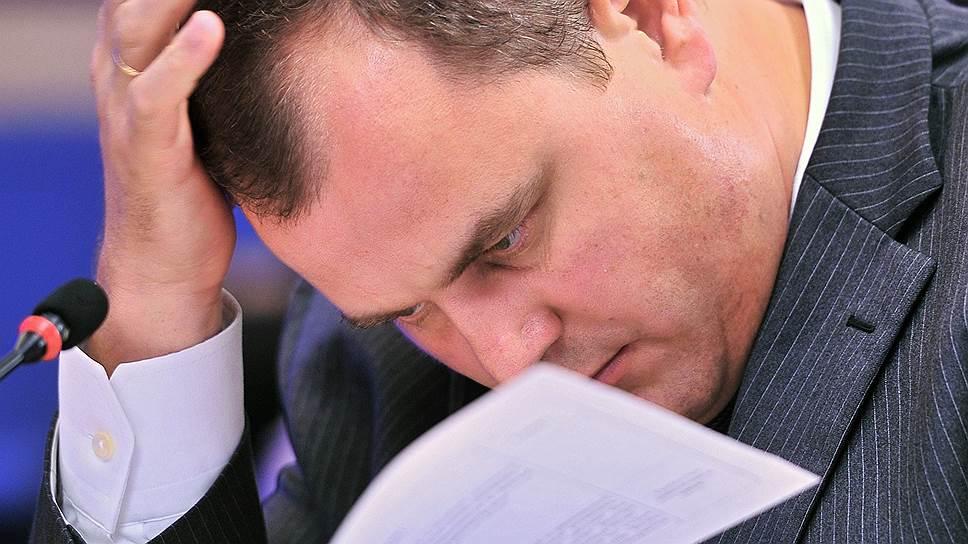 Заместитель главы Федерального казначейства Сергей Гуральников