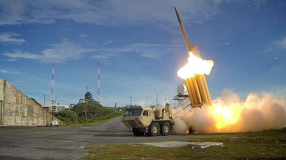 Почему четыре пусковые установки системы THAAD попали в Южную Корею без ведома ее президента