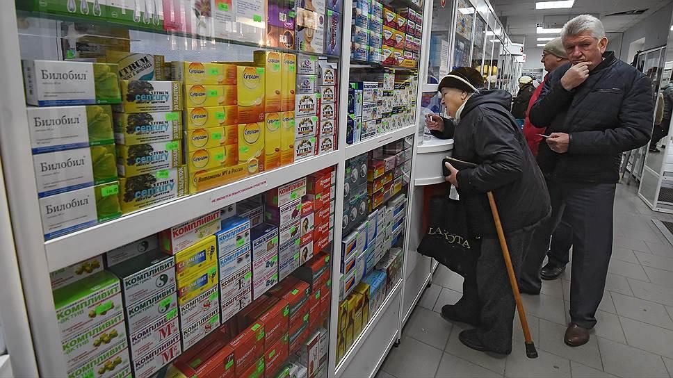 Продавцы лекарств, алкоголя и продуктов для здорового питания показывают самый быстрый рост в рознице
