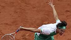 Доминик Тим (на фото) благодаря первой за карьеру победе над Новаком Джоковичем второй раз подряд вышел в полуфинал Roland Garros