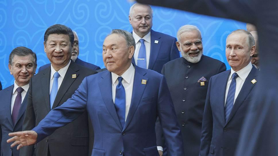 Как в ШОС были приняты новые члены — Индия и Пакистан