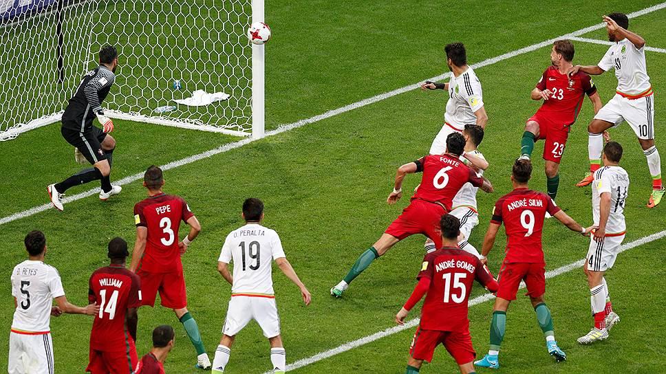 Ничья в пользу сборной России в матче Португалия—Мексика