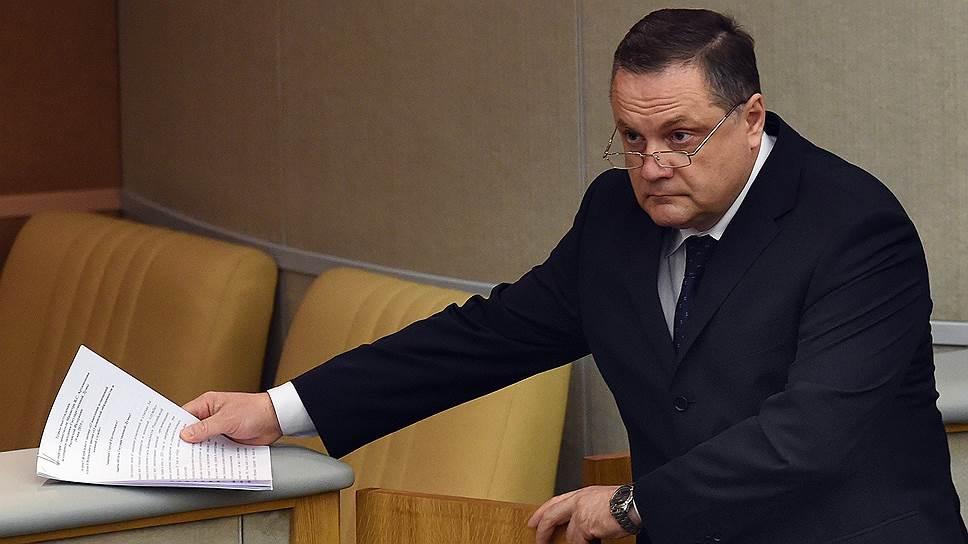 Генерал-полковника внутренней службы Владимира Артамонова обвинили в фиктивном трудоустройстве супруги