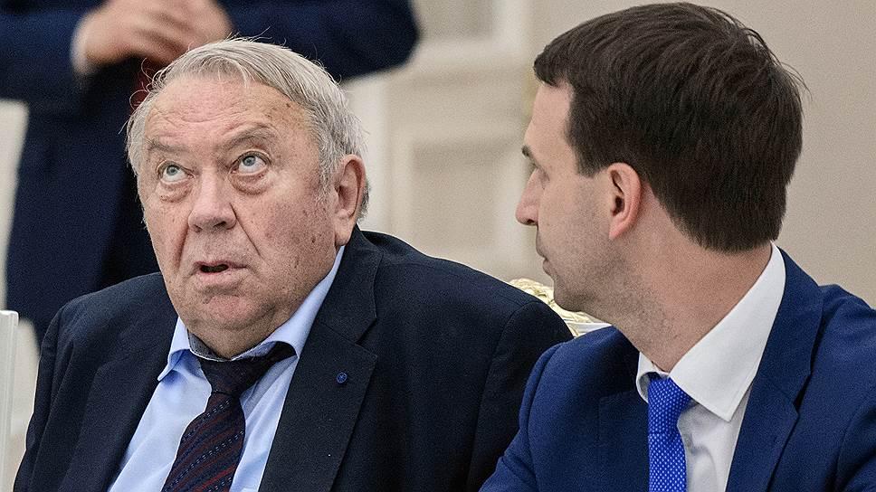Бывшему главе РАН Владимиру Фортову (на фото слева) и его коллегам, похоже, удалось добиться того, чтобы на пост президента академии могли претендовать больше трех ее членов