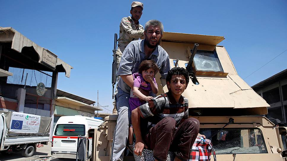 «Исламское государство» потеряло иракскую столицу
