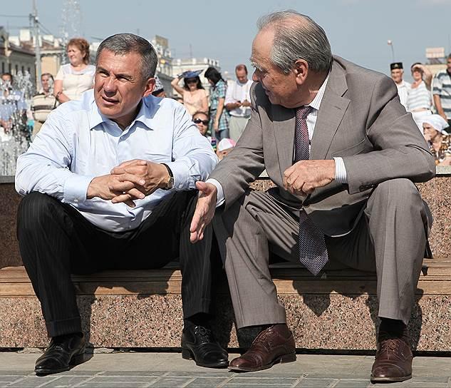 Первый и действующий президенты Татарстана Минтимер Шаймиев (справа) и Рустам Минниханов считают, что договор между Москвой и Казанью нужно продлевать