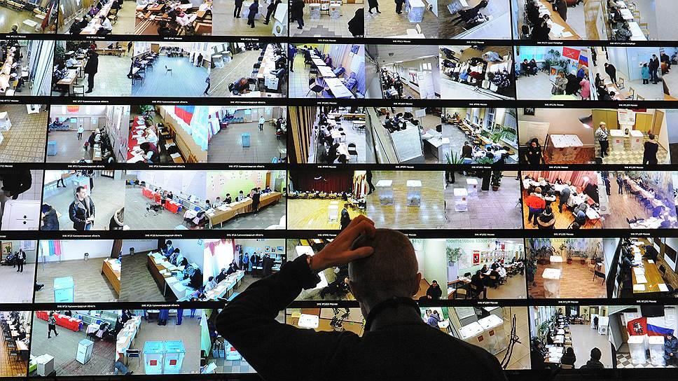 ЦИК меняет систему доступа к записям с камер