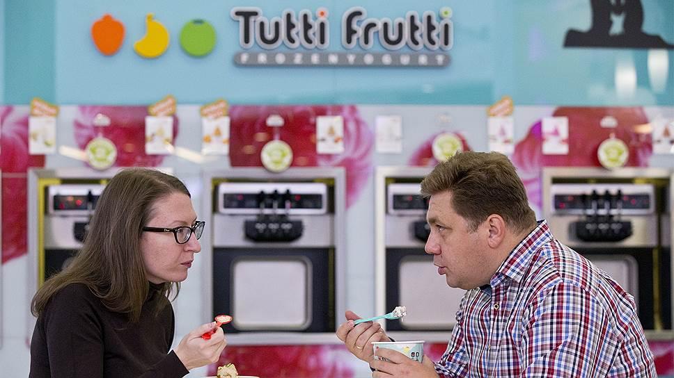 Российский франчайзи Tutti Frutti предложит посетителям торгцентров мороженое в два раза дешевле