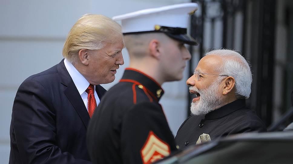 Как премьер-министр Индии Нарендра Моди посетил США с визитом