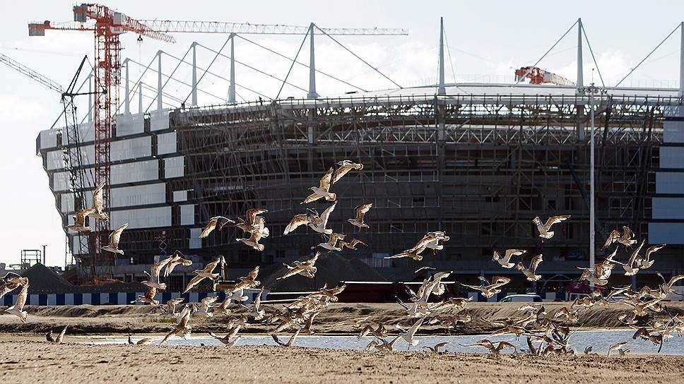 Как в «Арену Балтика» закопали миллионы